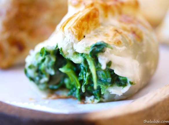 Figure 3. Spinach and cheese empanada