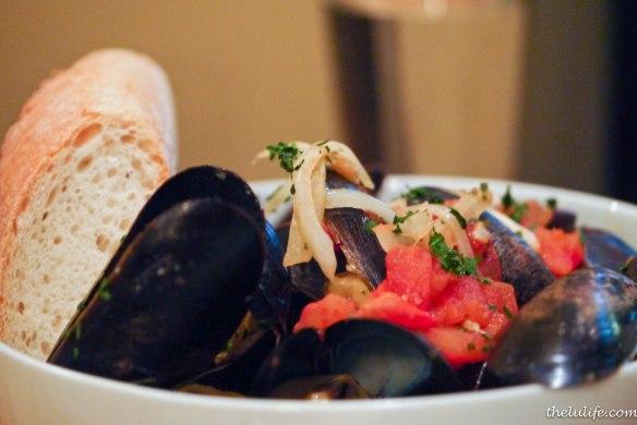 Figure 4. Mussels