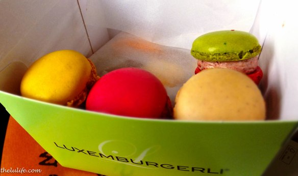 Figure 14. The first layer of Sprungli macarons