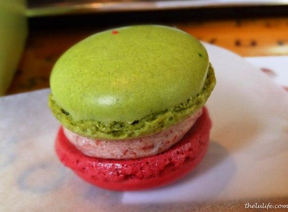 Figure 15. Strawberry macaron