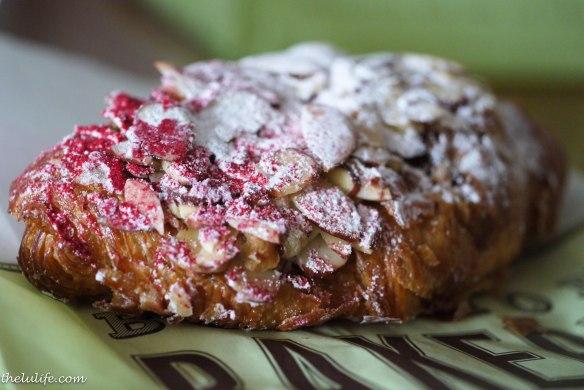 Figure 10. Raspberry almond croissant