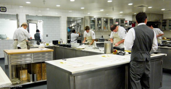The Kitchen at The Restaurant