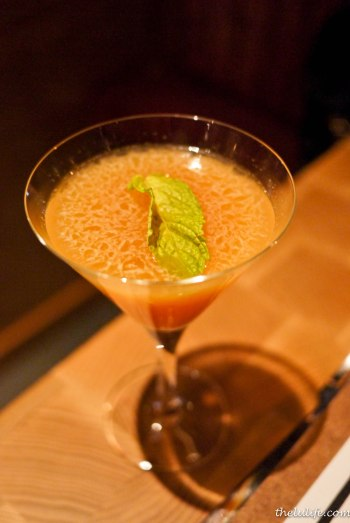 Kumquat Martini